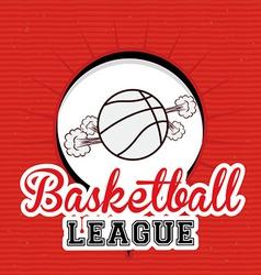 Basketball desing vector