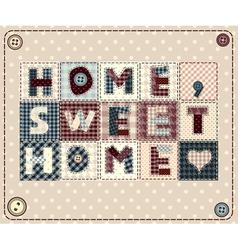 Home sweet vector