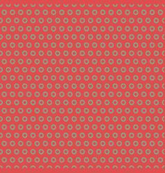 vintage polka dot seamless pattern vector image