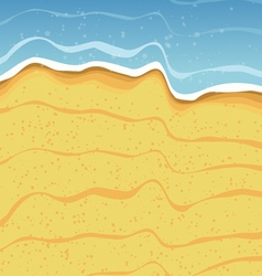 Beach shore background vector