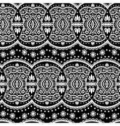 lace seamless ornament vector image vector image