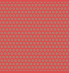 Vintage polka dot seamless pattern vector