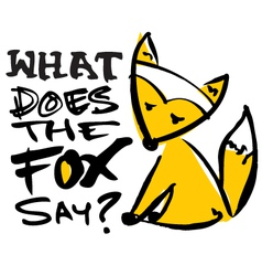 What does the fox say vector