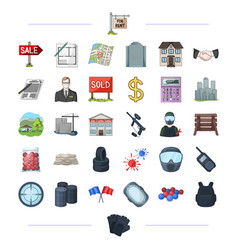 Travel tourism business and other web icon in vector