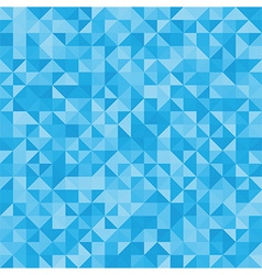 Abstract blue triangles vector image