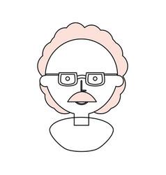Einsten cute cartoon vector