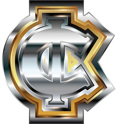 Fancy cent symbol vector