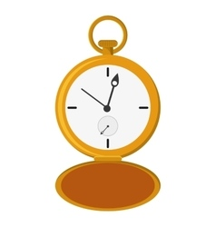 pocket watch icon vector image