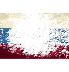 Russian flag grunge background vector