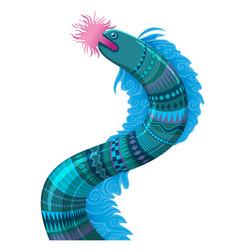 sea fantastic animal vector image