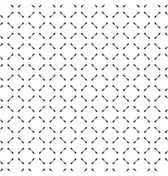 Seamless geometric texture vector image vector image