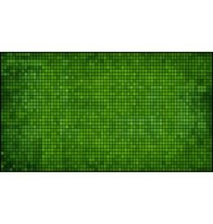 Green abstract mosaic background vector