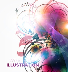 Abstract Summer Background vector image vector image