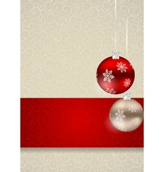 Abstract beauty christmas and new year seamless vector