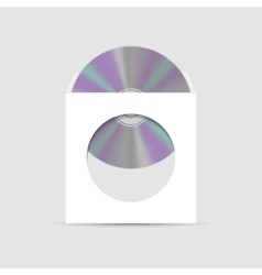Envelope for cd with window vector