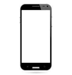Realistic smart phone vector image