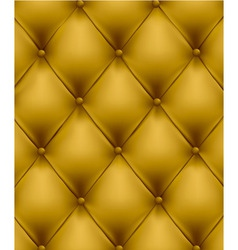 Genuine leather yellow vector