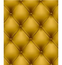 genuine leather yellow vector image