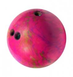 bowling ball vector image