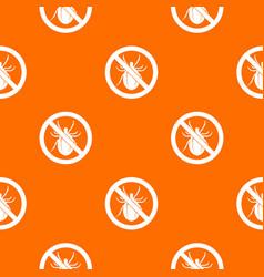 No bug sign pattern seamless vector