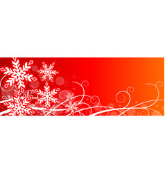 Red abstract christmas background vector