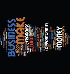 The best business opportunities for entrepreneurs vector