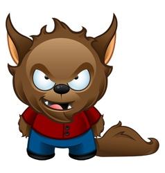 Werewolf monster bad vector
