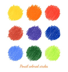 Set of colorful dots vector