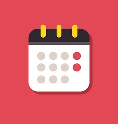 Calendar icon icons for smartphones and tablets vector