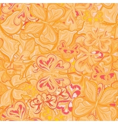 Seamless pattern with butterflies for vector