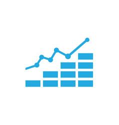 Business finance chart vector