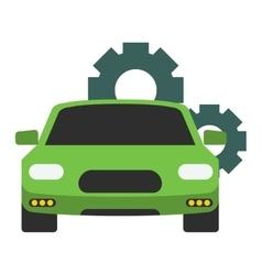 Car service repair icon vector