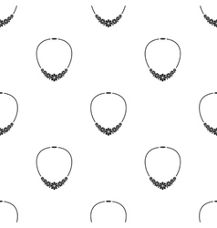 Necklace icon of for web and vector