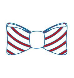 Bow tie icon vector