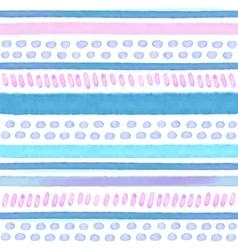 Hand drawn Watercolor tribal seamless vector image vector image