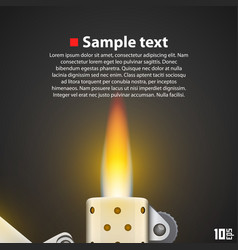 Lighter background vector
