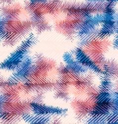 Seamless pattern hippie tie dye rorschach summer vector
