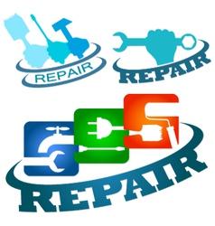 Symbol repair service vetor vector