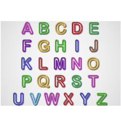 Alphabet Set vector image