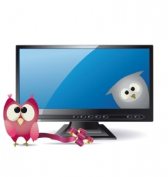 animation TV vector image vector image