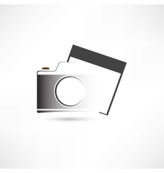 camera and photo vector image vector image