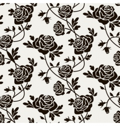 Rose seamless vector