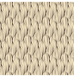 Seamless pattern made of brown lines vector image vector image