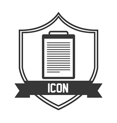 file icon vector image