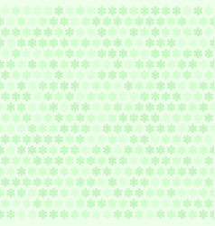 green flower pattern seamless vector image