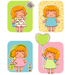 lala Cartoons small vector image vector image