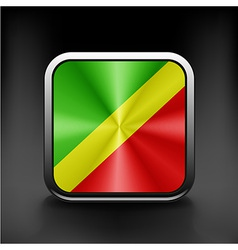 Republic of the Congo Flag vector image