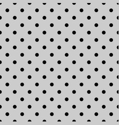 Seamless black and grey pattern vector