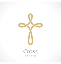 cross weave vector image