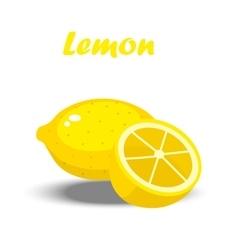 a lemon vector image